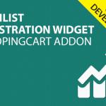Wishlist Registration Widget – AddOn – 1ShoppingCart Single SignUp